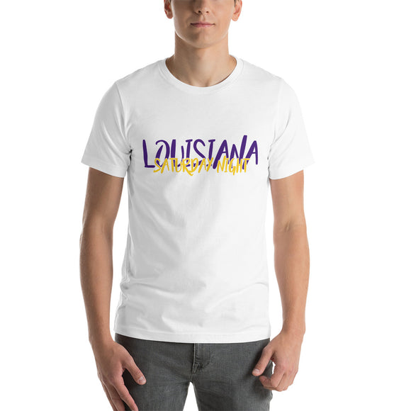 Louisiana Saturday Night-Short-Sleeve Unisex T-Shirt