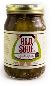 Old Soul Pickles - A Spicy Dilly Dills