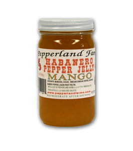 Pepperland Farms Mango Habanero Pepper Jelly