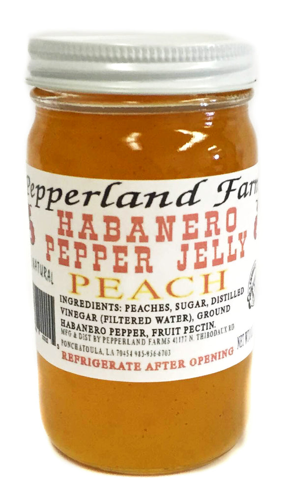 Pepperland Farms Peach Habanero Pepper Jelly