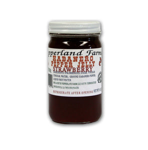 Pepperland Farms Strawberry Habanero Pepper Jelly