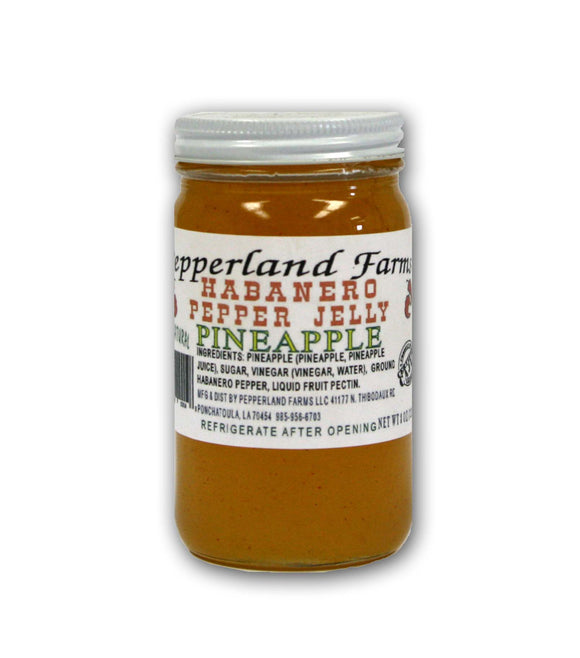 Pepperland Farms Pineapple Habanero Pepper Jelly