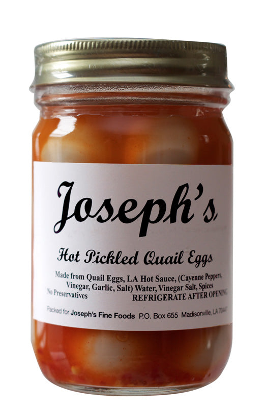 Joseph's Hot Pickled Quail Eggs