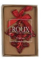 Red Lightweight Fleur-de-lis Ornament