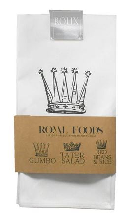 Gumbo, Tater Salad & Red Beans - Royal Foods Set/3 Towels