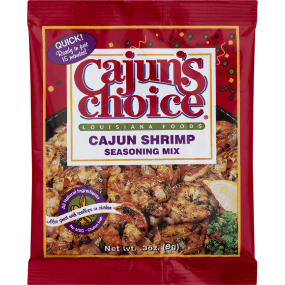 Cajun's Choice Cajun Shrimp Seasoning Mix