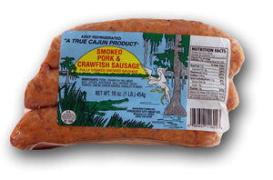 Crescent City Smoked Pork & Crawfish Sausage