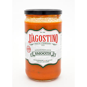 D'Agostino Pasta Company Smooth Pasta Sauce