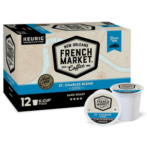 French Market Coffee Dark Roast Single Serve Cups
