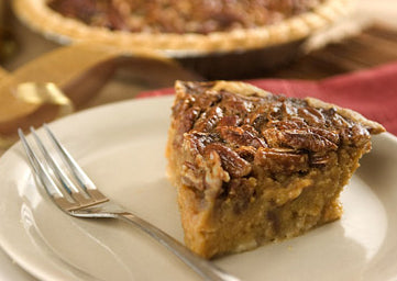 Tee-Eva's Sweet Potato Pecan Pie slice