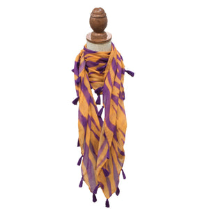 Tiger Stripe Scarf 40 x 40""