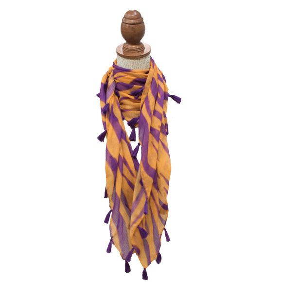 Tiger Stripe Scarf 40 x 40