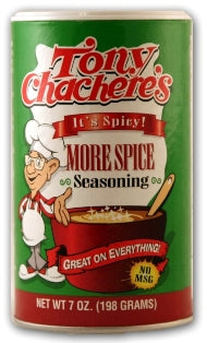 Tony Chachere's More Spice Creole Seasoning