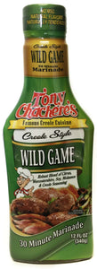 Tony Chachere's Creole Style Wild Game Marinade
