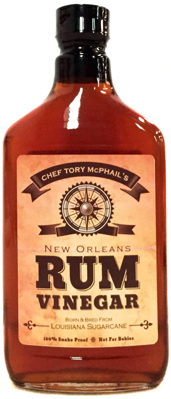 Chef Tory McPhail's New Orleans Rum Vinegar