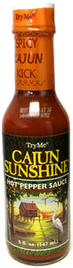 Try Me Cajun Sunshine Hot Pepper Sauce