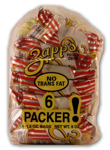 Zapp's Potato Chips - 6 pack