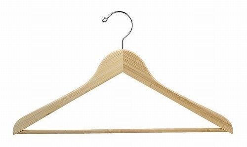 Bamboo Flat Suit Hanger