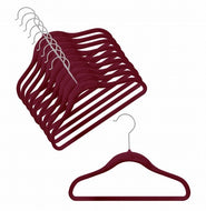 Children's Slim-Line Burgundy Hanger