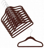 Children's Slim-Line Chocolate Brown Hanger