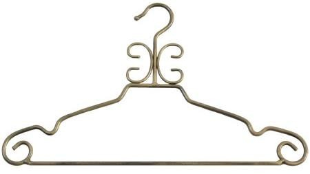 Decorative Suit Hanger (Antique Gold)