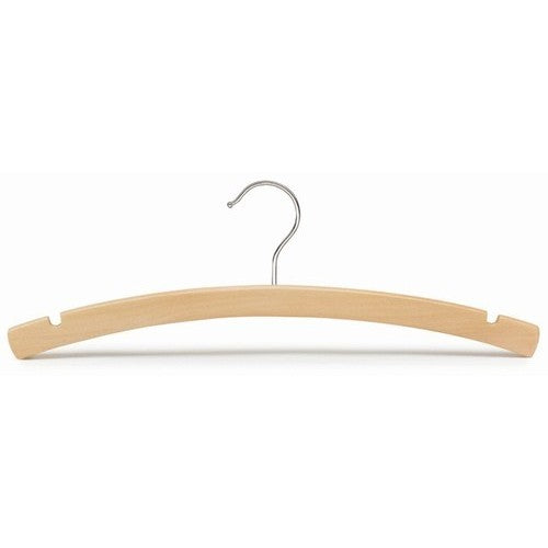 Juniors Arched Wooden Dress/Shirt Hanger - 14