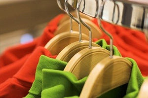 Laminated Bamboo Dress/Shirt Hanger