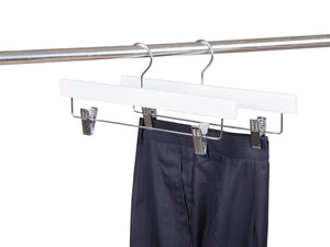 White Wooden Pant-Skirt Hanger