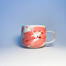 Load image into Gallery viewer, Valentimes Pink Brushy Mug 2