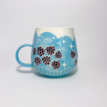 Load image into Gallery viewer, Blue Blackberry Mug