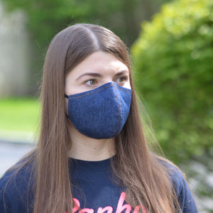 Denim face masks