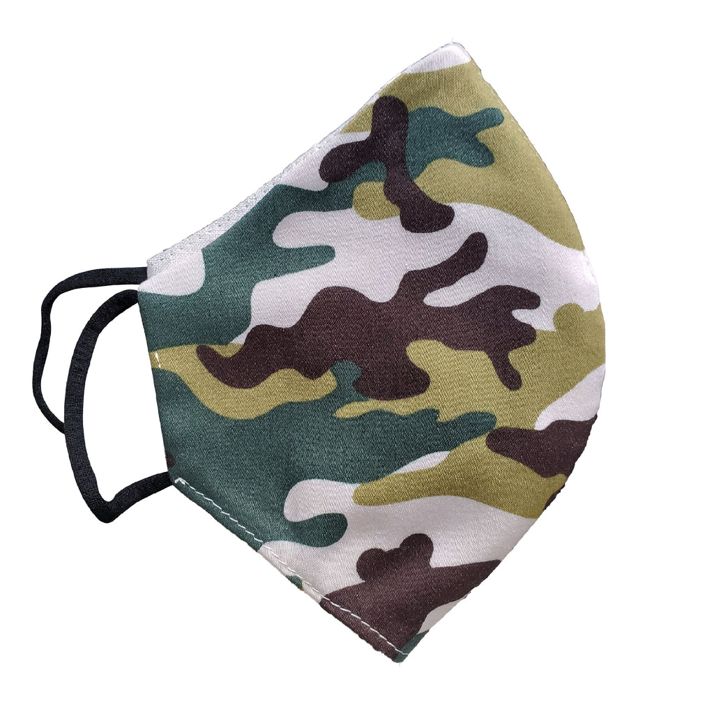 camo face mask men