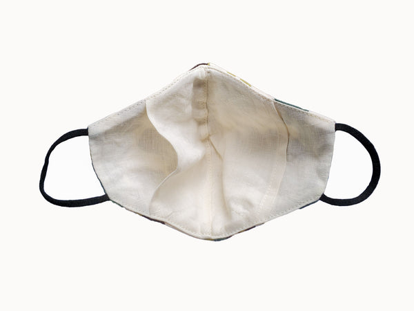 face mask with n95 filter pouch
