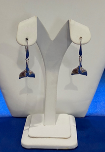 Whale's Tail Leverback Earrings