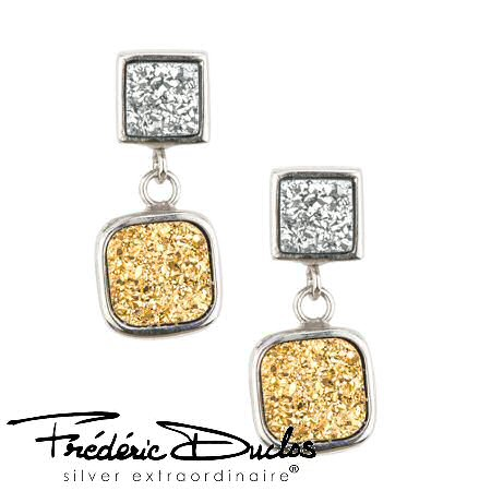 Frederic Golden Drusy Earrings