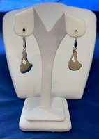 Block Island Leverback Earrings - Large