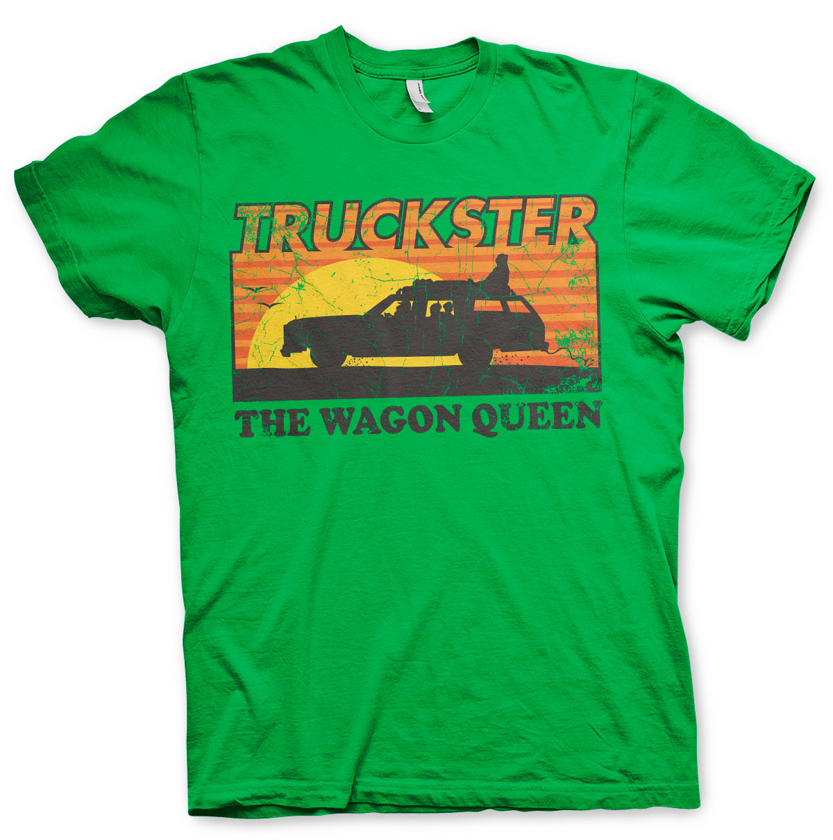 National Lampoon's Truckster The Wagon Queen T-Shirt Green - Amhero