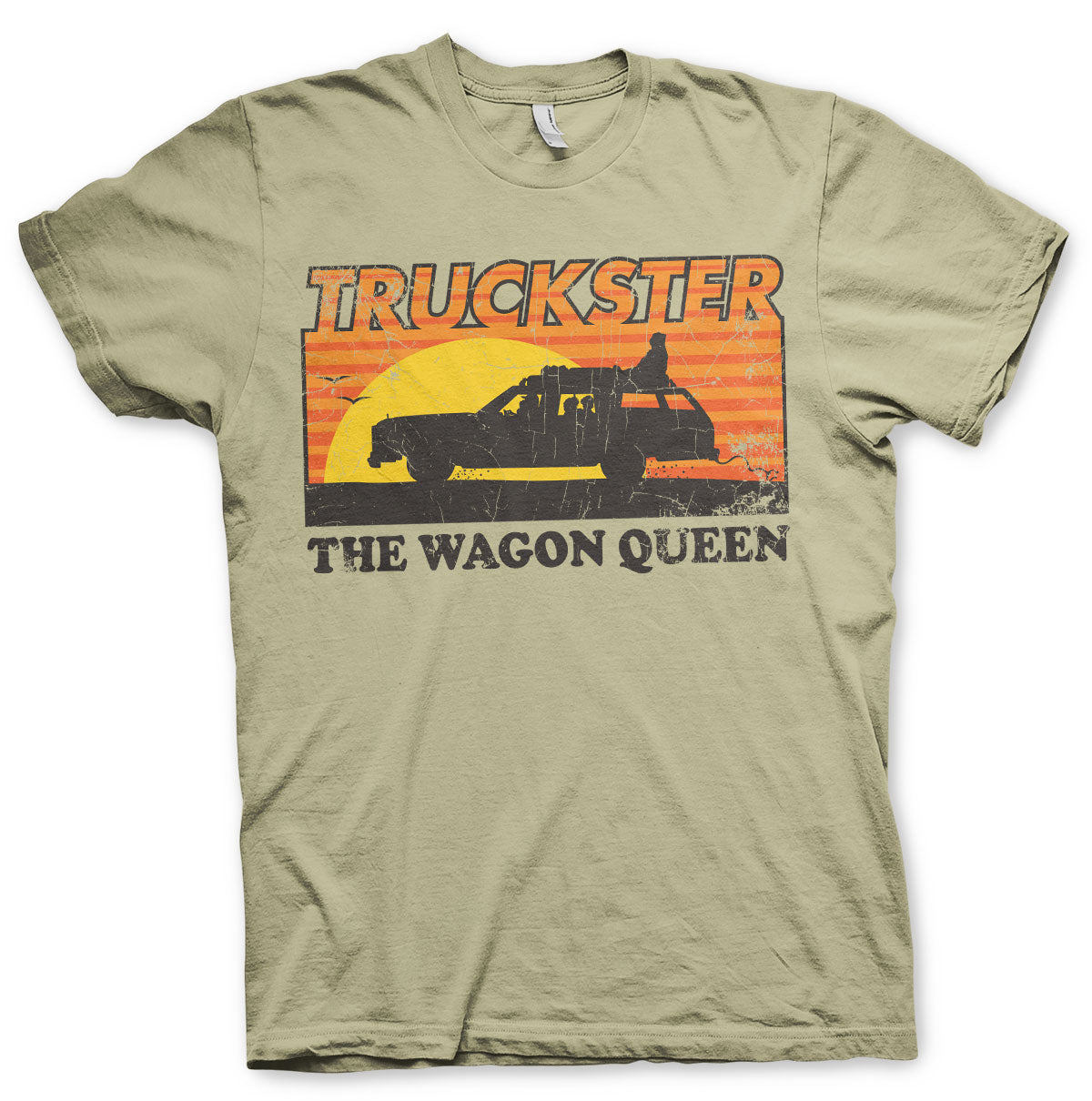 National Lampoon's Truckster The Wagon Queen T-Shirt Beige - Amhero