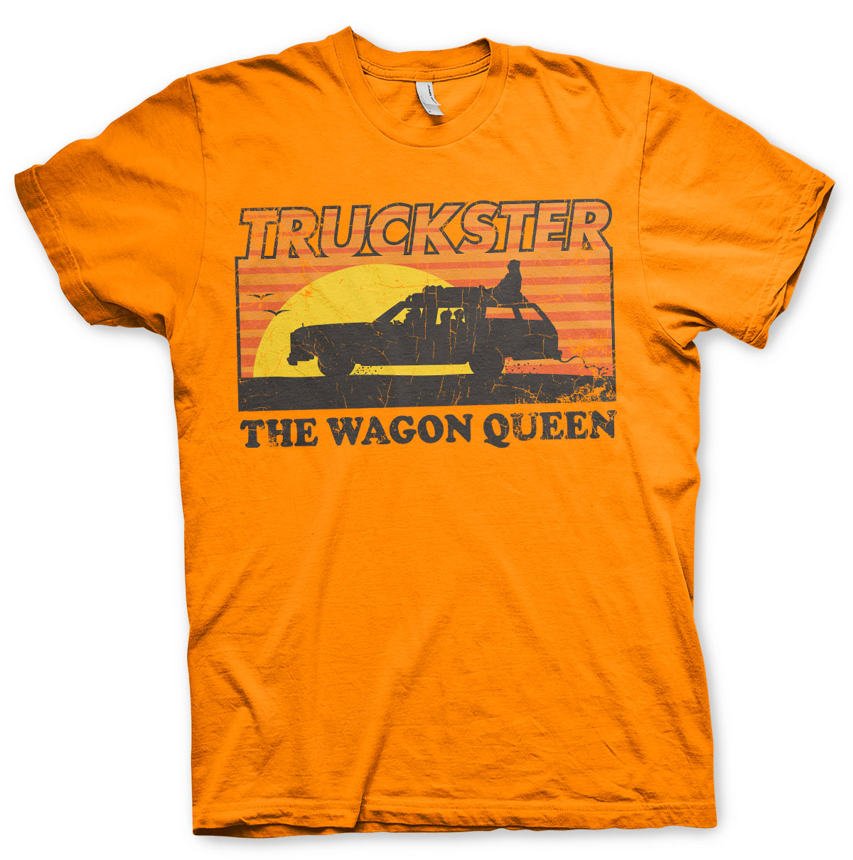 National Lampoon's Truckster The Wagon Queen T-Shirt Orange - Amhero