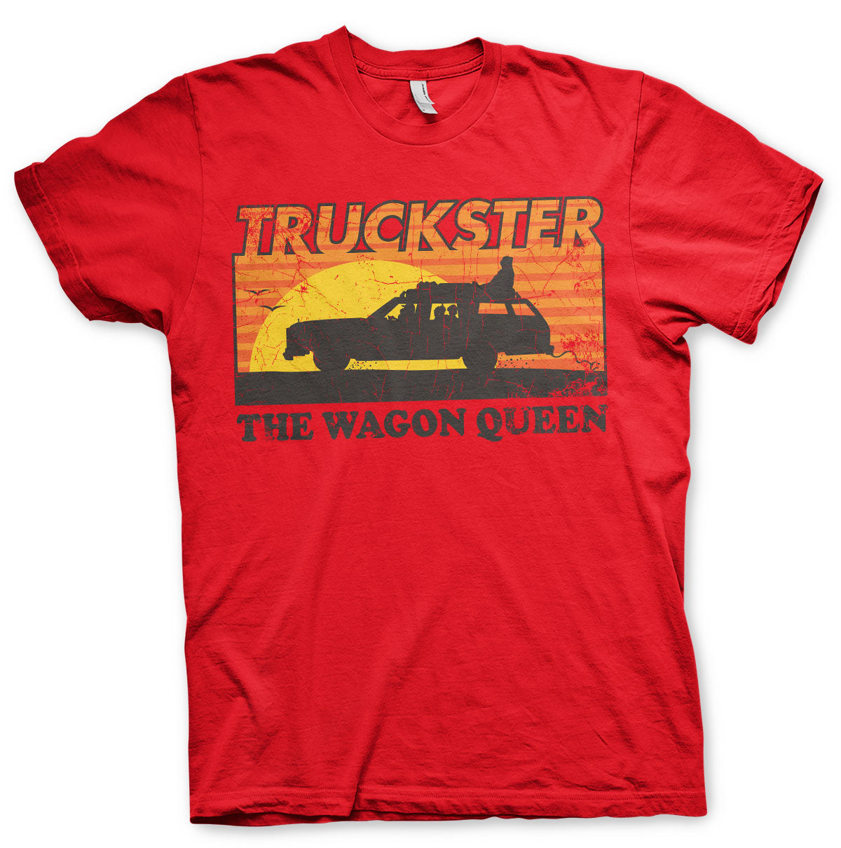National Lampoon's Truckster  The Wagon Queen T-Shirt Red - Amhero