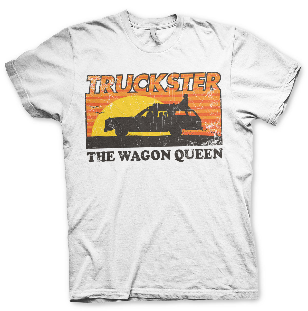 National Lampoon's Truckster The Wagon Queen T-Shirt White - Amhero