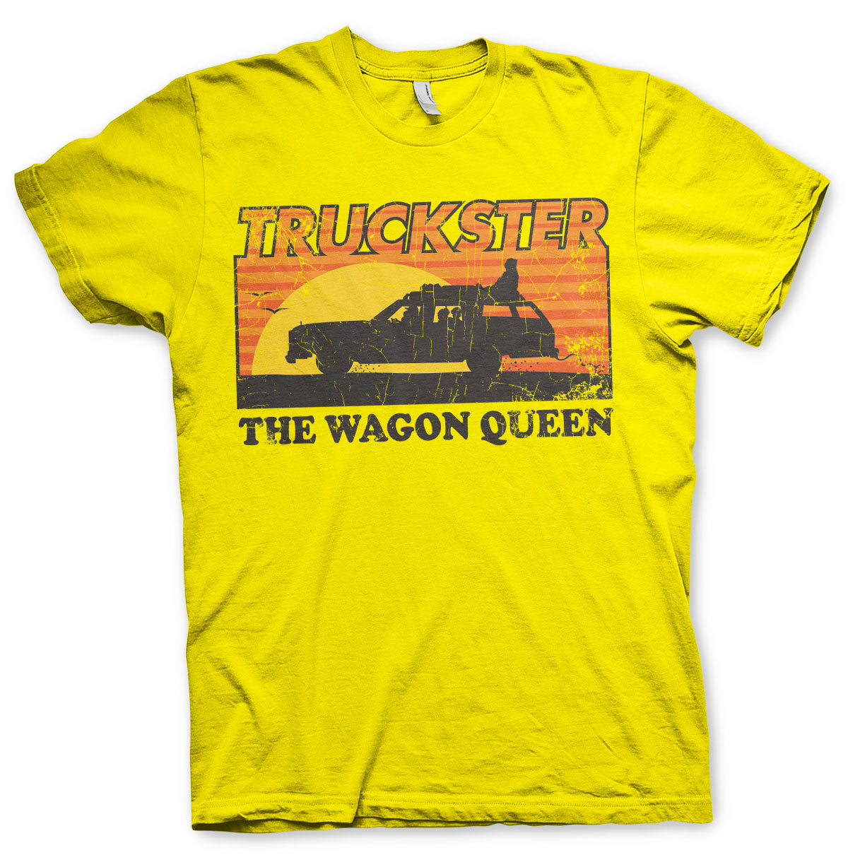 National Lampoon's Truckster  The Wagon Queen T-Shirt Yellow - Amhero