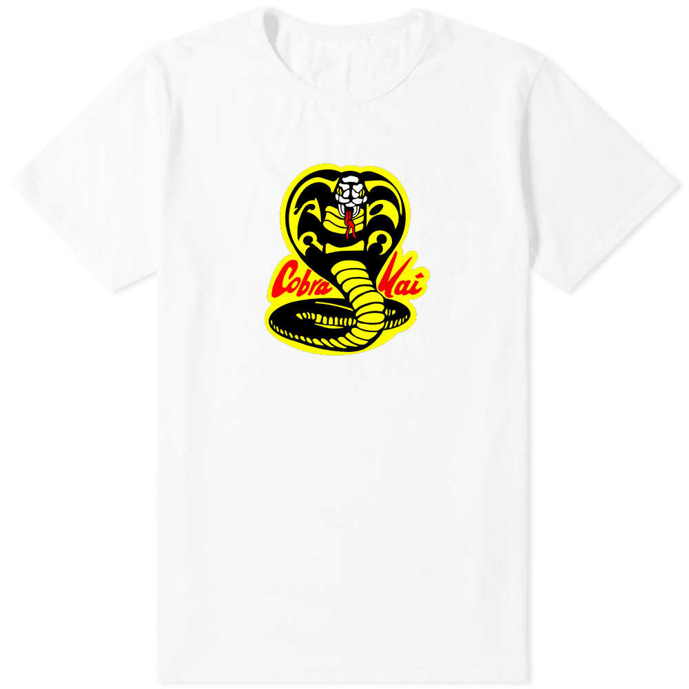 Cobra Kai T-Shirt White - Amhero