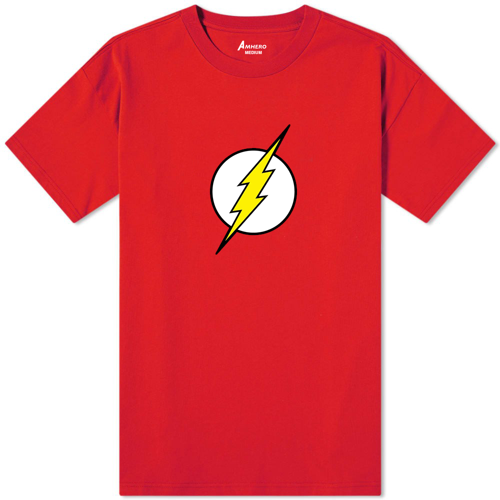 The Flash Logo T-Shirt Red