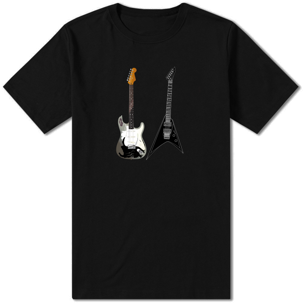 Guitar T-Shirt - Amhero