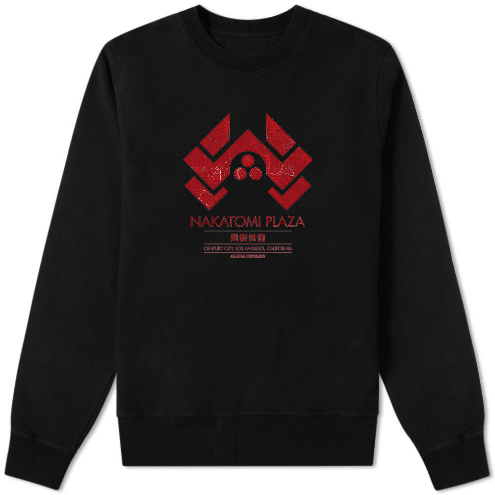 Nakatomi Plaza Sweater Black - Amhero