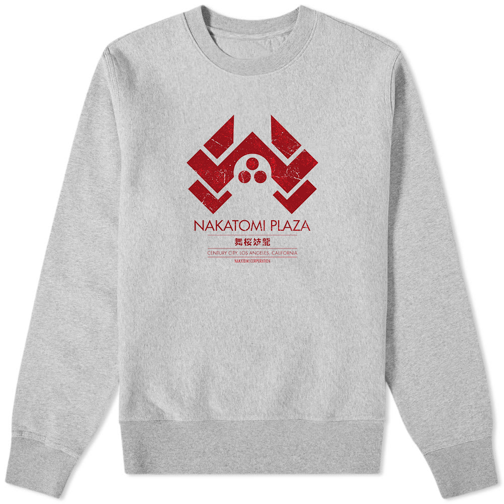 Nakatomi Plaza Sweater Grey - Amhero