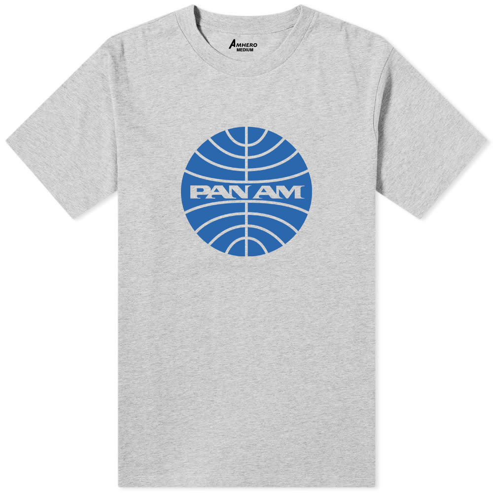 Pan Am T-Shirt Grey - Amhero