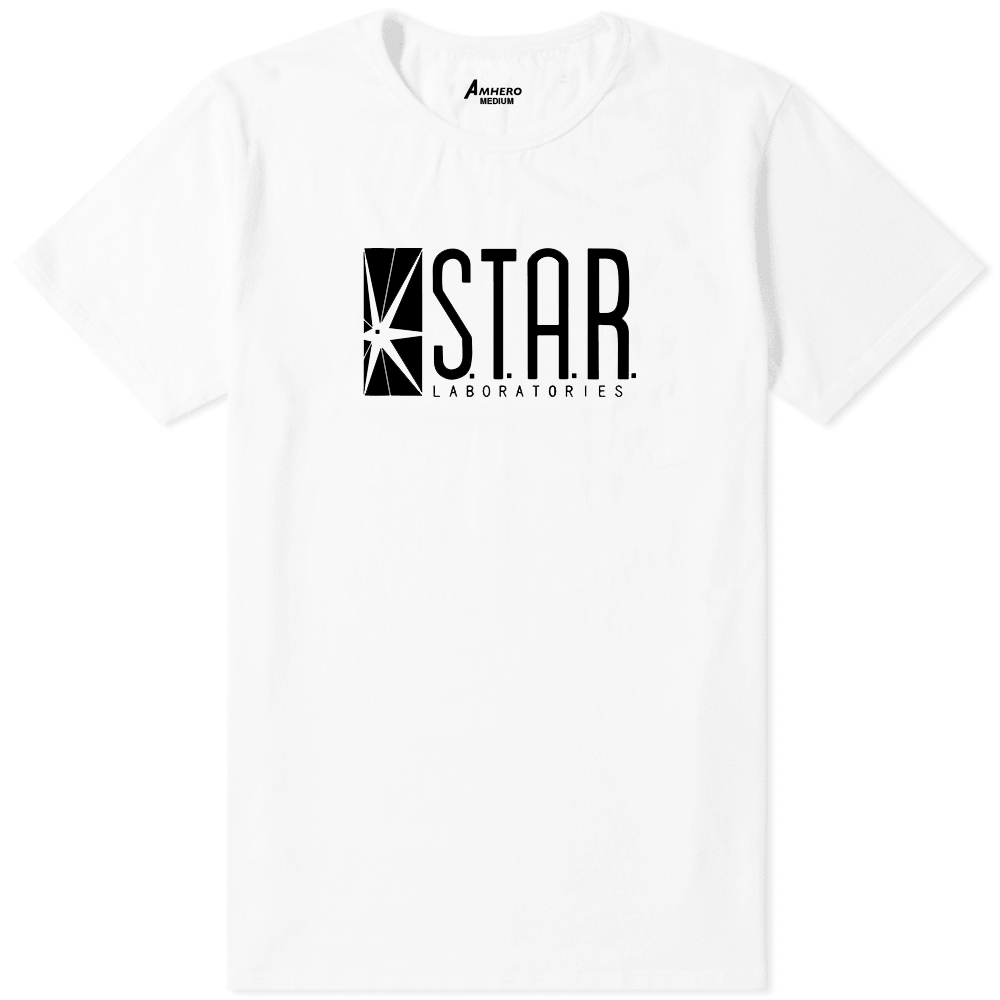 Star Laboratories T-Shirt White - Amhero