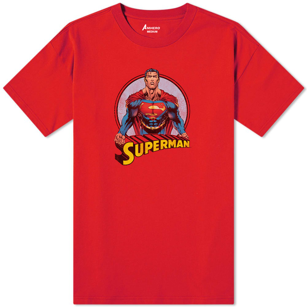 Superman T-Shirt Red - Amhero